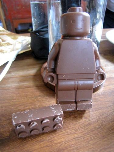 Chocolate Lego minifig