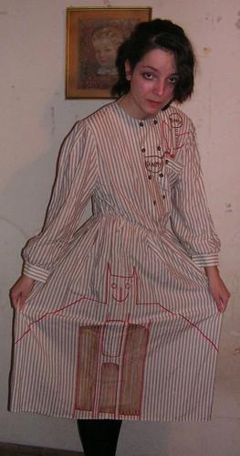 Russian looking bat dress,haha,