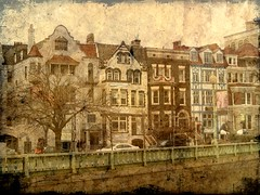 Amsterdam on the Potomac (Kurlylox1) Tags: street houses tree cars architecture fence buildings washingtondc colorful european facades dupontcircle townhouses bunting canalhouses notamsterdam theunforgettablepictures lookslikesomewhereelse