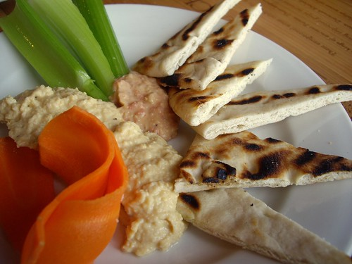 Trio of Hummus