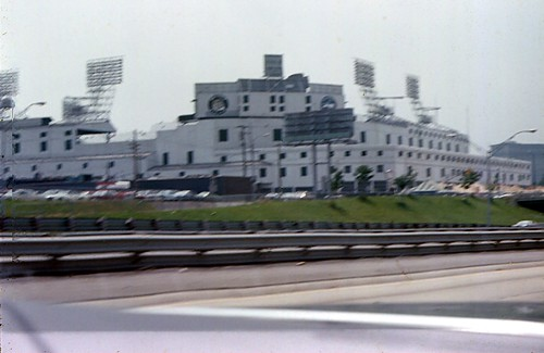 Tiger Stadium Shot from the Freeway