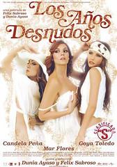 Los años desnudos cartel película