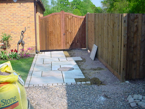 Indian Sandstone Driveway  Image 11