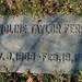 Caroline Taylor Ferris gravestone - Spring Grove Cemetery