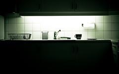 (Georgios Karamanis) Tags: light home cup kitchen paper sink plate brush tiles papertowel uppsala tap sponge dishrack cupboard karamanis powmerantusenord