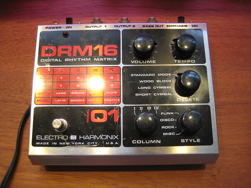 Electro-Harmonix DRM16 Drum Machine