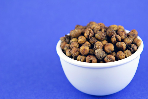 Garam Masala Roasted Chickpeas