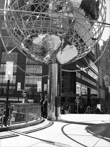 Globe, Columbus Circle