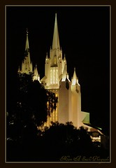 The Mormon Temple of San Diego ~ (**Mary**) Tags: california city usa church architecture wonder temple cityscape sandiego landmark lajolla nighttime picnik mormontemple thechurchofjesuschristoflatterdaysaints americasfinestcity 5photosaday mywinners mormonfaith