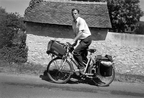 rural French mailman