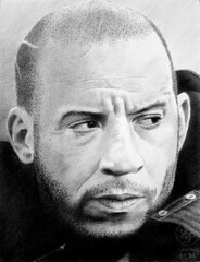 Vin Diesel (pbradyart) Tags: portrait bw art pencil star sketch artwork drawing pencildrawing vindiesel pencilportrait moviestardrawing filmstardrawing vindieseldrawing vindieselpencildrawing filmstarpencildrawing moviestarpencildrawing filmstarportrait