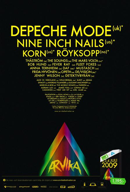 Cartel del festival de Arvika 2009