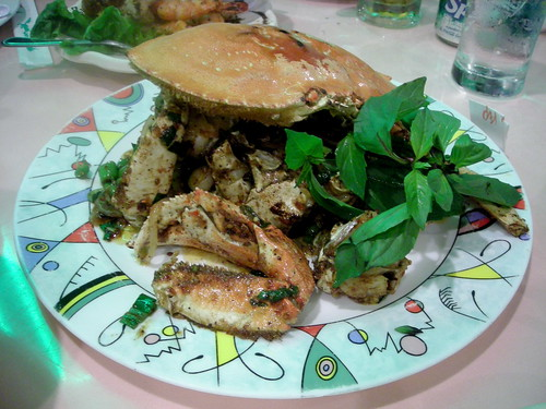 Crab with Salt and Pepper