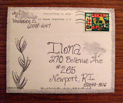 Artistic envelope