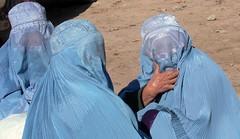 Mujeres con burka