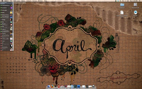 April desktop - demo