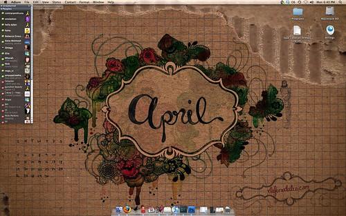 April desktop - demo