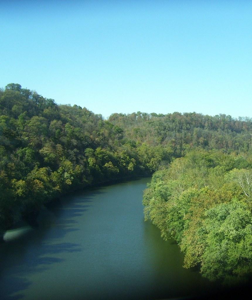 The Kentucky River Near Wild Turkey Distillery