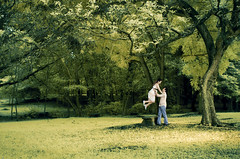 i'm verry happy (yoga - photowork) Tags: canon indonesia ir fun photography 350d couple infrared romantic 1022mm prewedding