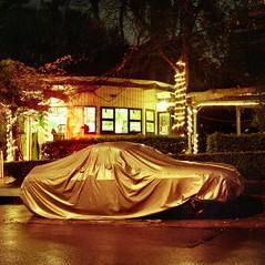 Elizabeth Bay. (Stu.Brown) Tags: car night rolleiflex nc sydney mg covered 400 epson sl66 portra elizabethbay 4490
