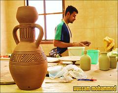 (Hussam Mohammed) Tags: pottery maker hussam