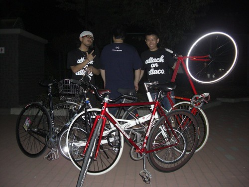 attacoTee×自転車