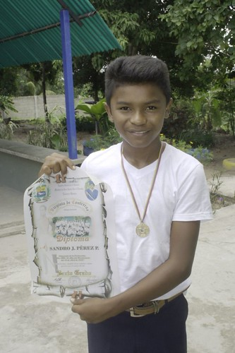 Sandro's diploma
