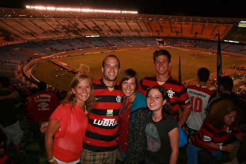 Flamengo vs Palmeiras at Maracana Stadium Rio de Janeiro