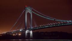 Verrazano Bridge at Night2 (rolandvarriale) Tags: nyc ny delete10 brooklyn night delete9 delete5 delete2 delete6 delete7 save3 delete8 delete3 delete delete4 save save2 save4
