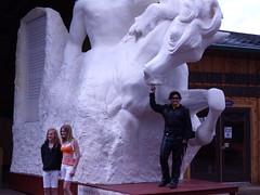 Ev  with Crazyt Horse Statue