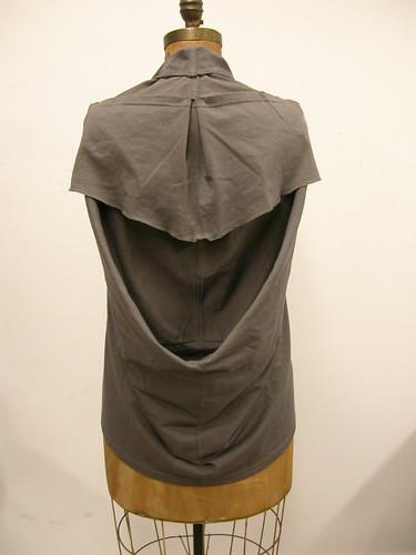 t-shirt chemise - dk. grey 005