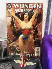 Adam Hughes Wonder Woman statue at the DC booth at San Diego Comic-Con International (Castles, Capes & Clones) Tags: dc sandiego wonderwoman adamhughes dccomics comiccon sandiegoconventioncenter sandiegocomicconinternational