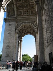Arc de Triomphe (Jon Barbour) Tags: paris france de europe arc triomphe canoncamera europeantravel flickrcommunity herethereandeverywhere worldwidewandering wetraveltheworld perspectivacentral travelplanet archiinarchitetturaarchesinarchitecture myglance strictlygeotagged geographyofphotography silverstarsblipfree geographicphotosets