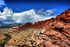 Red Rock Canyon (*Arianwen*) Tags: redrockcanyon usa nature landscape desert nevada hdr arianwen mywinners