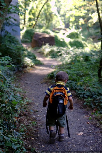 trudging hiker - _MG_0708