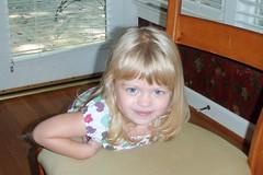 my beautiful blue-eyed girl