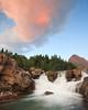 Glacier - 2009 (Jesse Estes) Tags: sunrise waterfall glaciernationalpark 1635ii 5d2 jesseestesphotography
