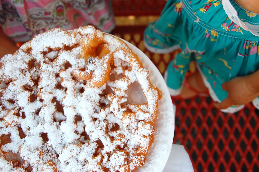 funnel cake... yikes!
