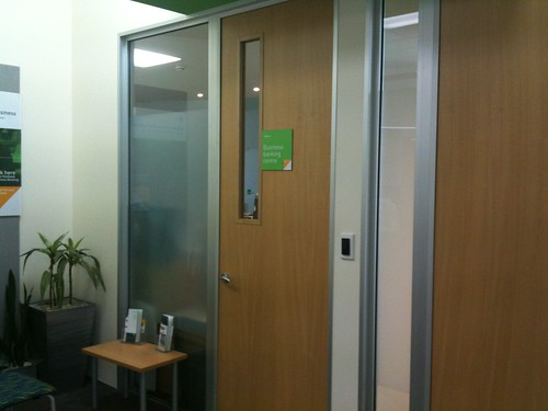 closed office door etiquette