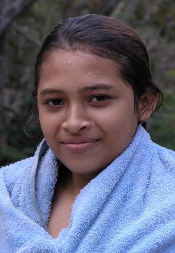 Portrait of a young woman - Retrato de una jovencita; Río Olama, Boaco, Nicaragua