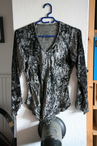 Refashioning - not this top, though.