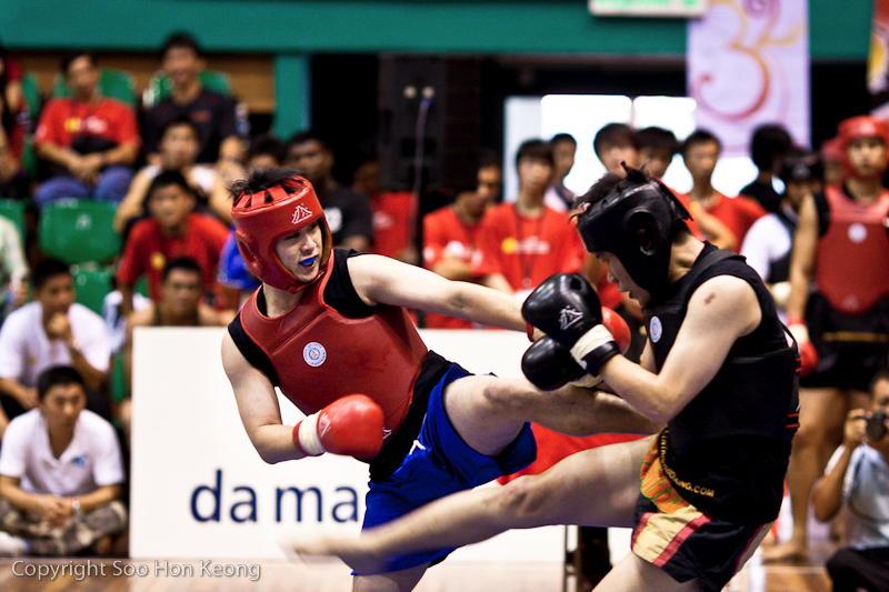 Wushu Competition (boxing) @ KL, Malaysia