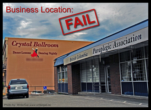 Business Location FAIL!!