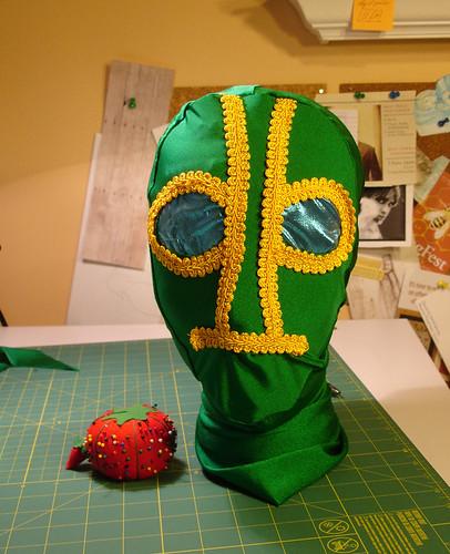 Ambush Bug Mask: Finished!
