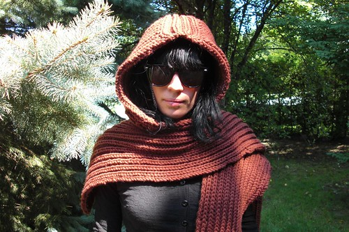 Hannah's hooded scarf Sept. 3-3