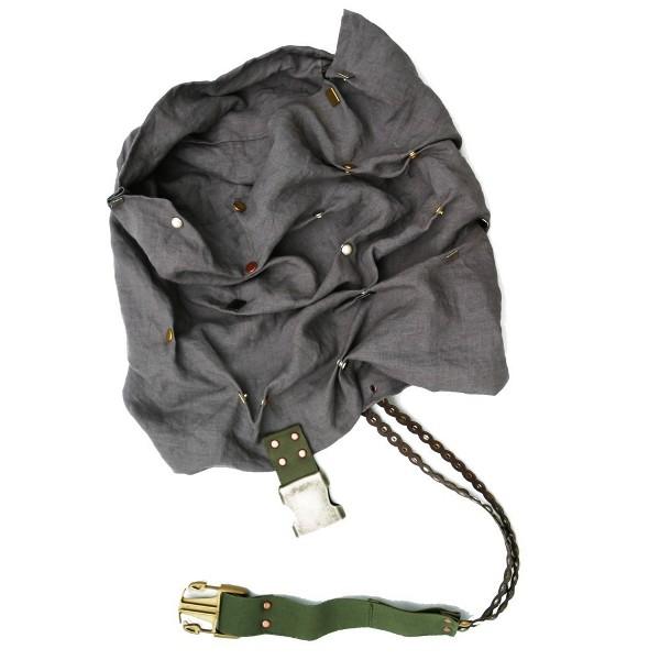 AttilaDesign Convertible Linen Scarf Hood 2