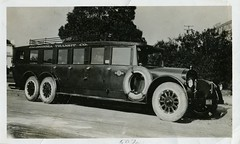 Before the Hound 1920s California (Bodie Bailey) Tags: california 1920s bw bus history blackwhite losangeles pacificcoast frankmcmahon transportion greyhoundbuslines pacificgreyhound