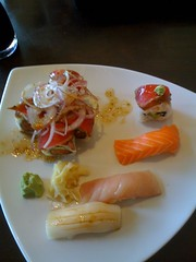 Sushi for lunch with Mrs. Krynsky