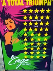 La Cage Aux Folles Poster (kirstiefuller) Tags: west london john la theatre cage end playhouse aux 2009 westend folles lacageauxfolles playhousetheatre johnbarrowman barrowman