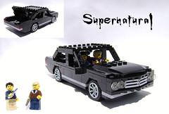 Back in black (DARKspawn) Tags: city black car town sam dean impala winchester supernatural